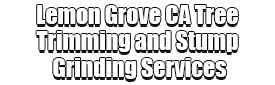 Lemon Grove CA Tree Trimming and Stump Grinding Services Logo-We Offer Tree Trimming Services, Tree Removal, Tree Pruning, Tree Cutting, Residential and Commercial Tree Trimming Services, Storm Damage, Emergency Tree Removal, Land Clearing, Tree Companies, Tree Care Service, Stump Grinding, and we're the Best Tree Trimming Company Near You Guaranteed!